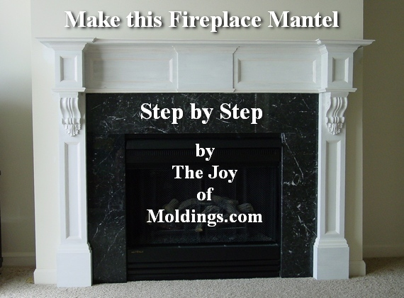free diy fireplace mantel plans