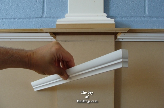 crown molding for wainscoting