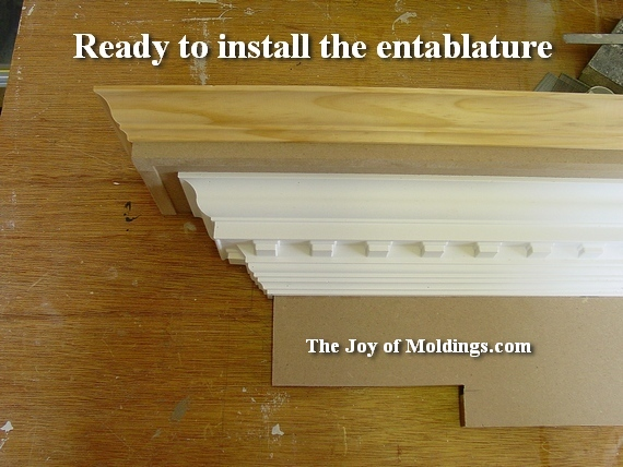 easy to install foam crown molding