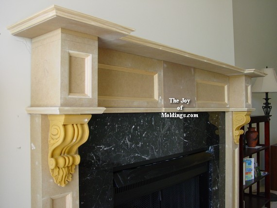 How to build a fireplace mantel diy step by step