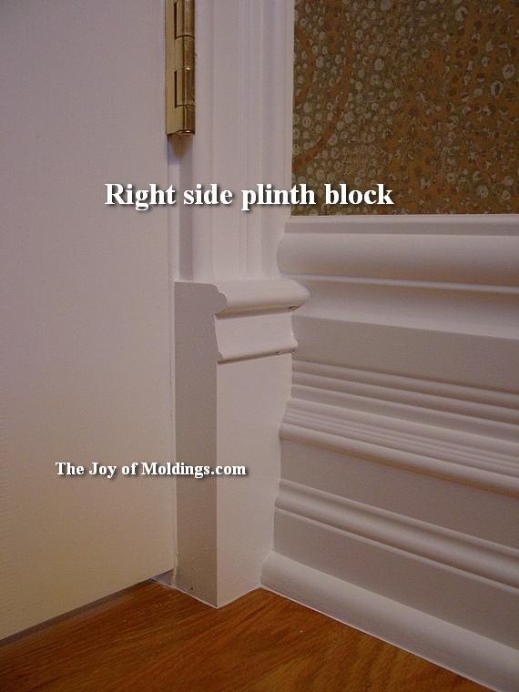 pre-cut plinth block