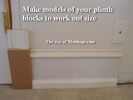 how to install plinth blocks