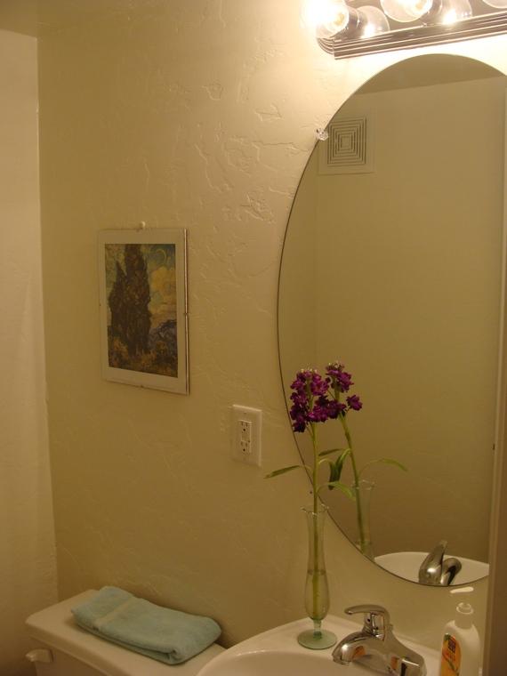 Half Bathroom Molding Renovation Starts This Weekend