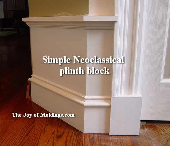 how to install make plinth blocks