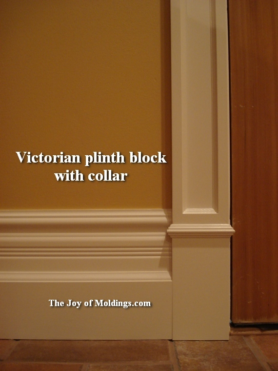 how to make a victorian style plinth block