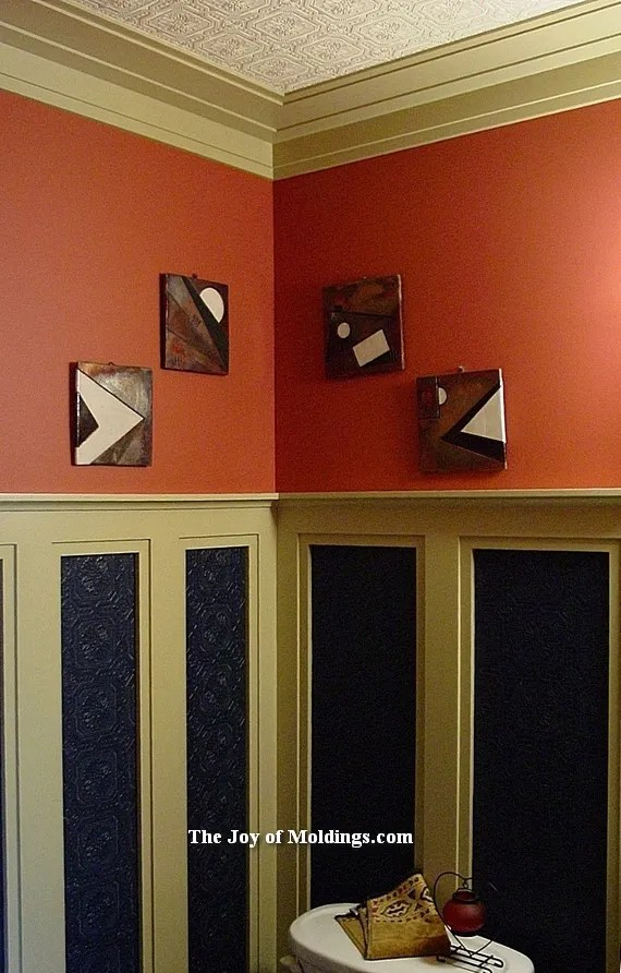 Oakland County, Rochester Hills wainscoting installation