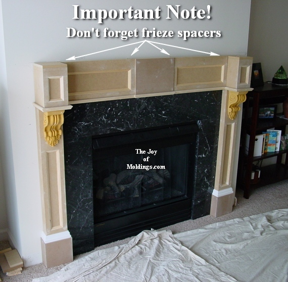 how to build a fireplace mantels
