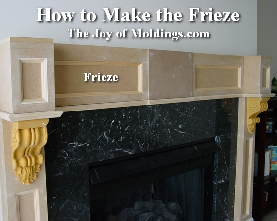 how to build a diy fireplace mantel from mdf