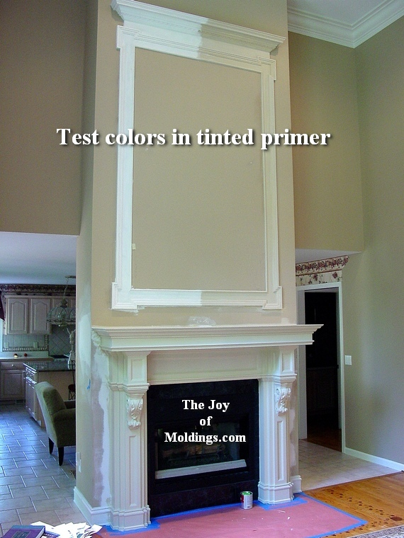 how to install great room moldings