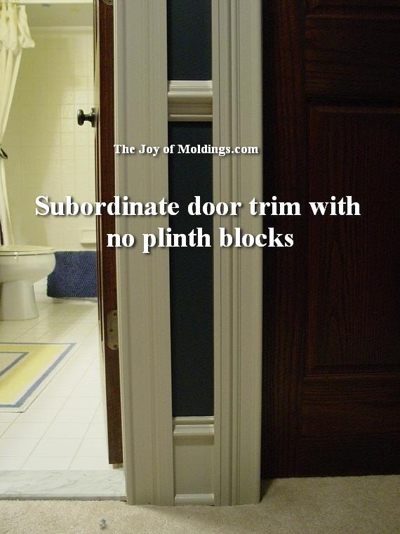 how to use plinth blocks