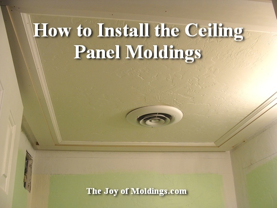 moldings in a small room