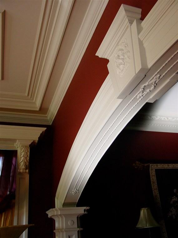 flex trim on archway
