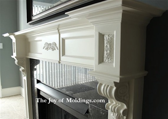 Groovy Fireplace Mantel 102 Gallery The Joy Of Moldings Download Free Architecture Designs Grimeyleaguecom