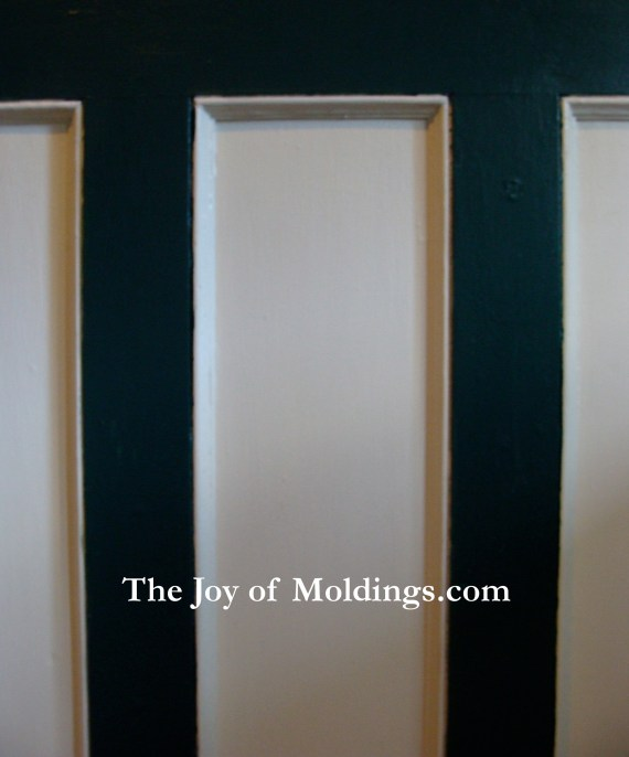 tall painted wainscoting