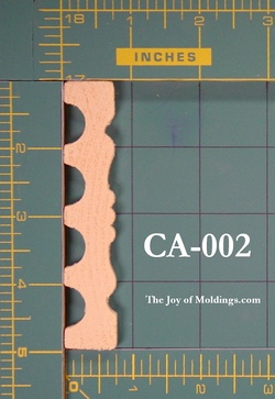 fluted casing molding