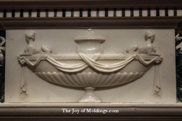 urn fireplace ornament