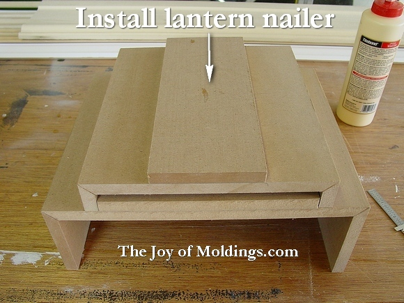 how to install moldings