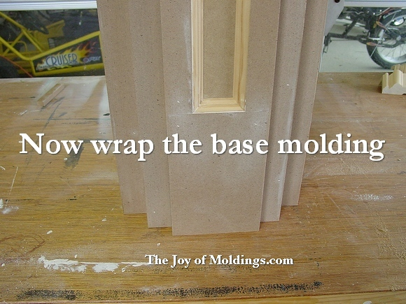 How to Build FIREPLACE MANTEL-103 Part 6: Wrapping the Crown