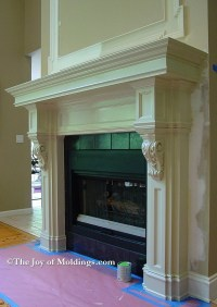 FIREPLACE MANTELS Archives - The Joy of Moldings