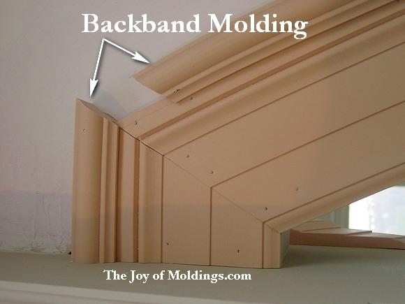 backband molding