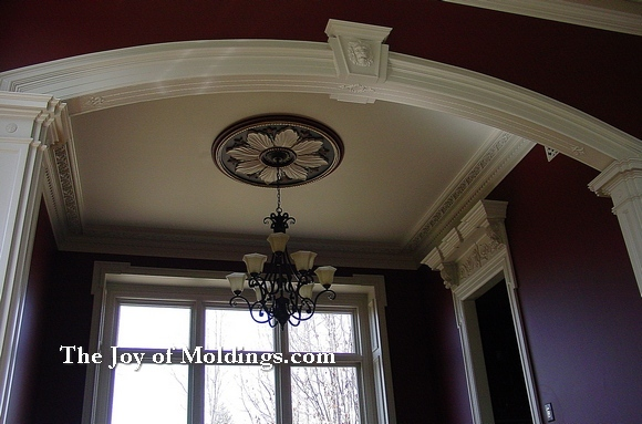best dining room crown molding