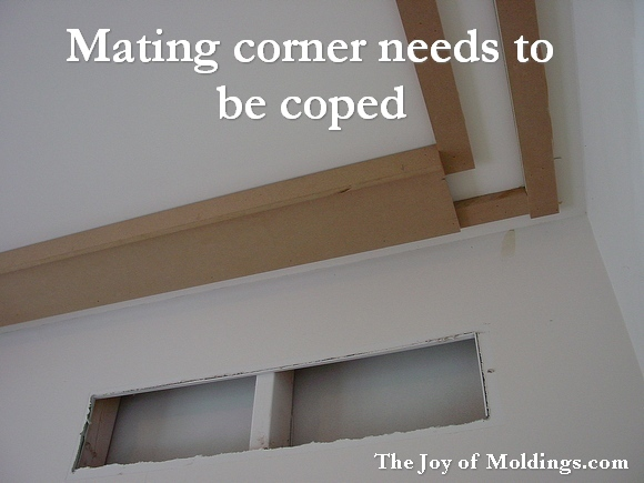 cope crown molding