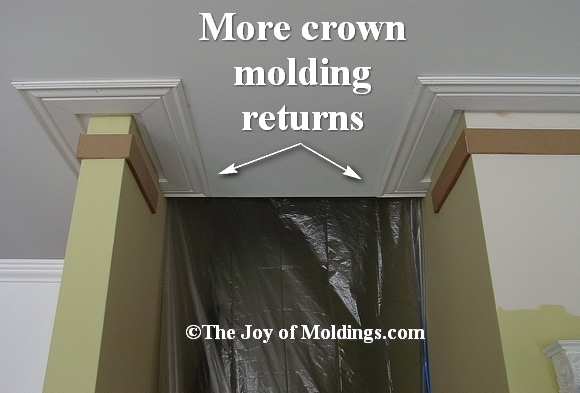 moldings stairs