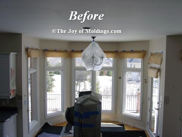 bay window moldings