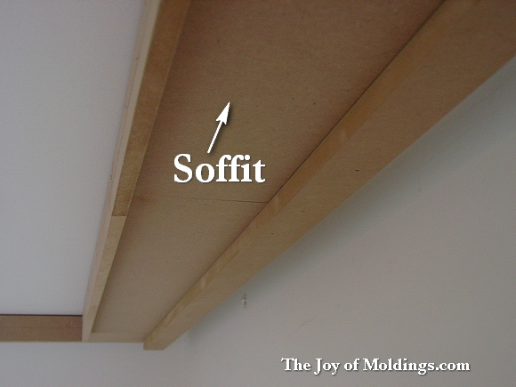 crown molding structure