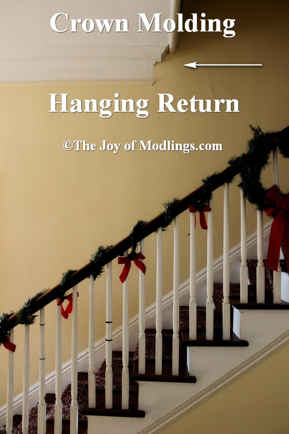 Crown Molding Hanging Return in Historic Home  The Joy of
