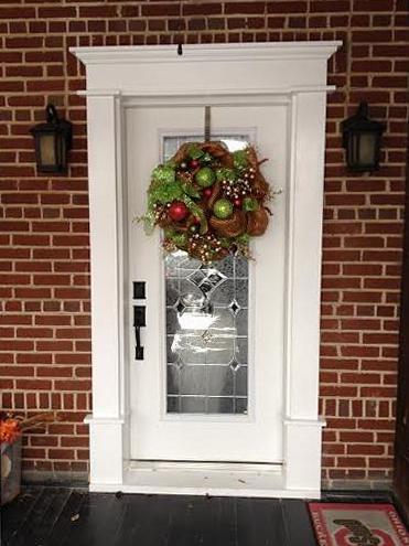 exterior front door surround trim