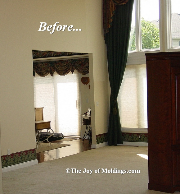 before & after moldings