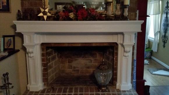 fireplace mantel diy mdf