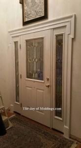 front door trim
