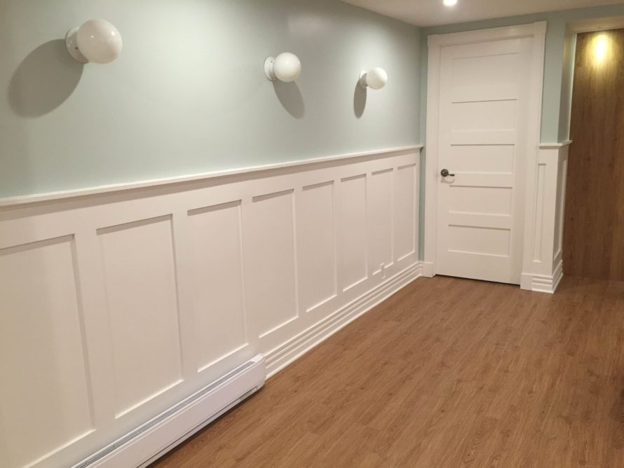 Craftsman Style Wainscoting by JeanFrancois  The Joy of
