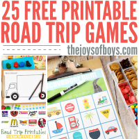 Free Printable Road Trip Games