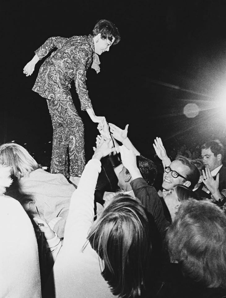 Judy Garland at the Boston Common 1968