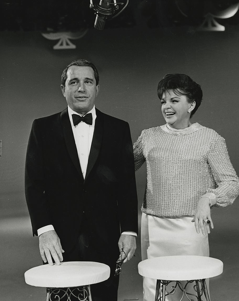 Judy Garland and Perry Como