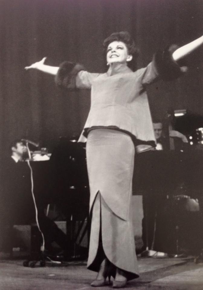 Judy Garland at the O'Keefe
