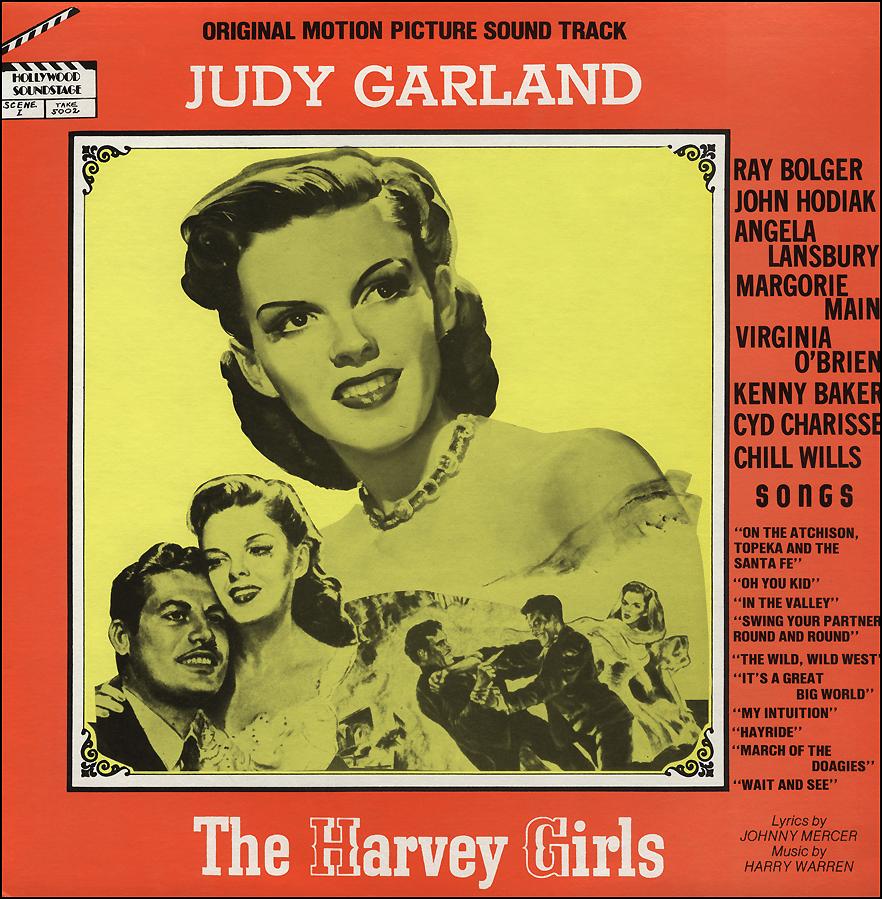 1980 bootleg LP of The Harvey Girls