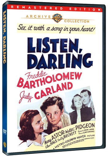 Listen Darling on DVD from the Warner Archive