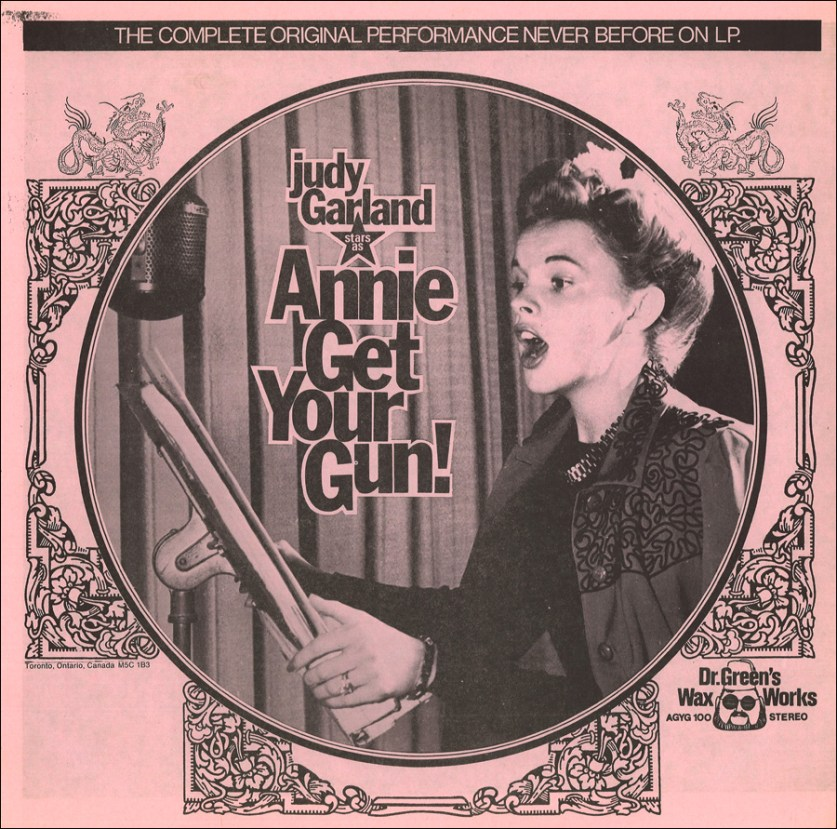 """Annie Get Your Gun"" bootleg LP"