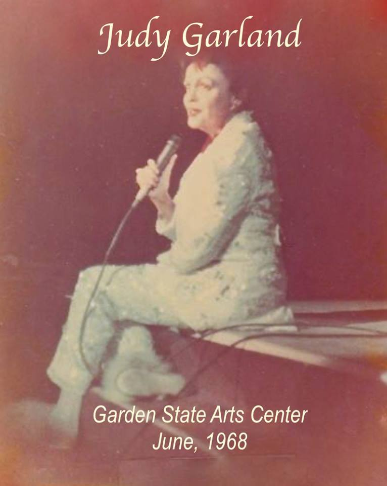 Judy Garland at the Garden State Arts Center 1968