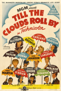 """Till The Clouds Roll By"" Australian  One Sheet Poster"