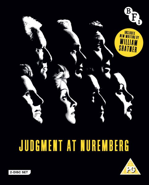 Judgment at Nuremberg BFI 2-disc special Edition Blu-ray