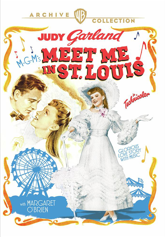 """Meet Me In St. Louis"" Warner Archive DVD re-release"