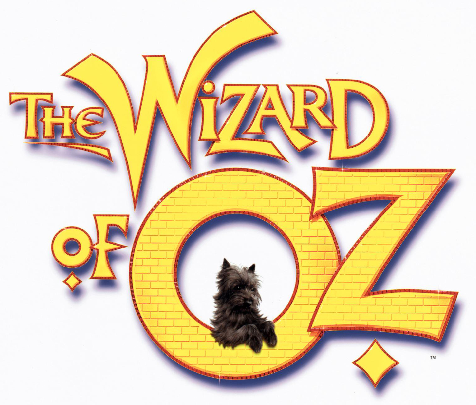 The Wizard of Oz 1999 Logo with Toto