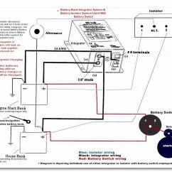 Dual Battery Setup Boat Diagram 2000 S10 Stereo Wiring Two Get Free Image About