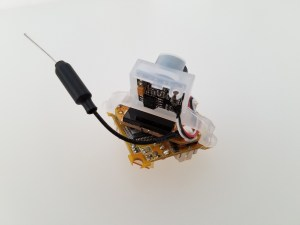 rear view of the BeeBrain V2 stack