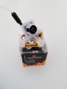 BeeBrain V2 stack on its box